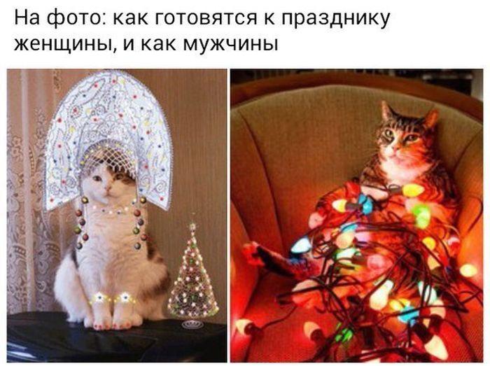 Новогодний юмор (33 фото)