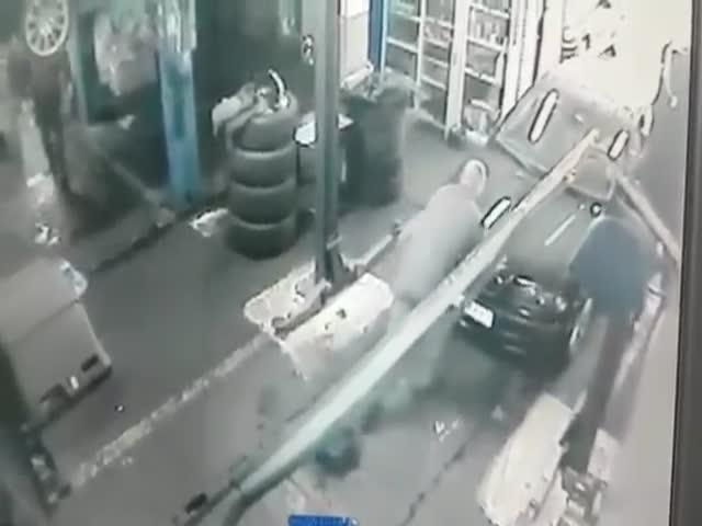 Невнимательный автомеханик