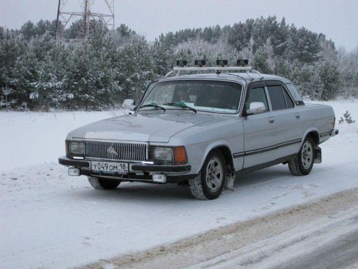 Колхозный тюнинг «Волги» ГАЗ 3102 (21 фото)