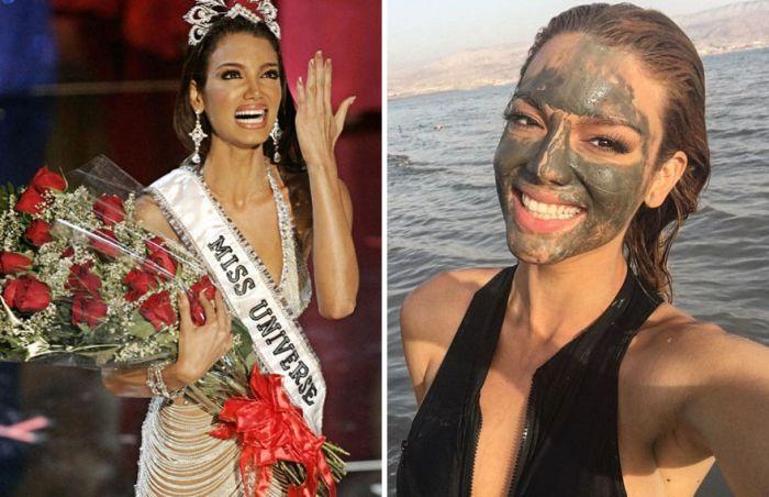Королевы красоты на сцене и в повседневной жизни (20 фото)