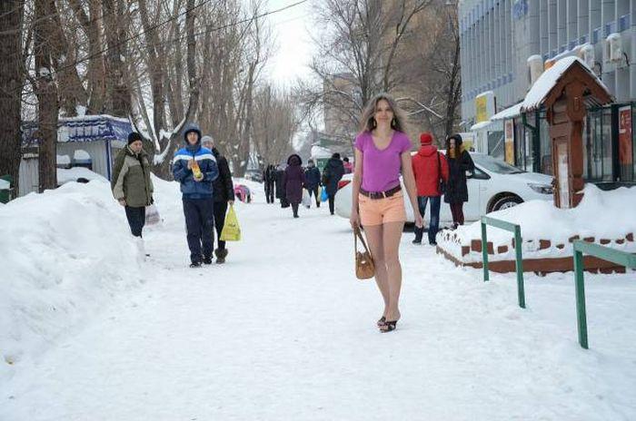 Фото, которые возможно было сделать только в России. Часть 51 (38 фото)