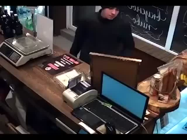Несостоявшееся ограбление в Калининграде