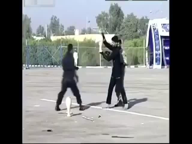 Бойцы иранского спецназа выбрали не тот кувшин