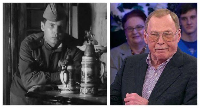 Советские актеры в начале своей карьеры и сейчас (12 фото)