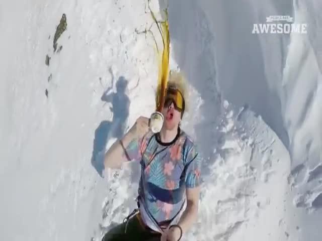 Эффектные зимние трюки