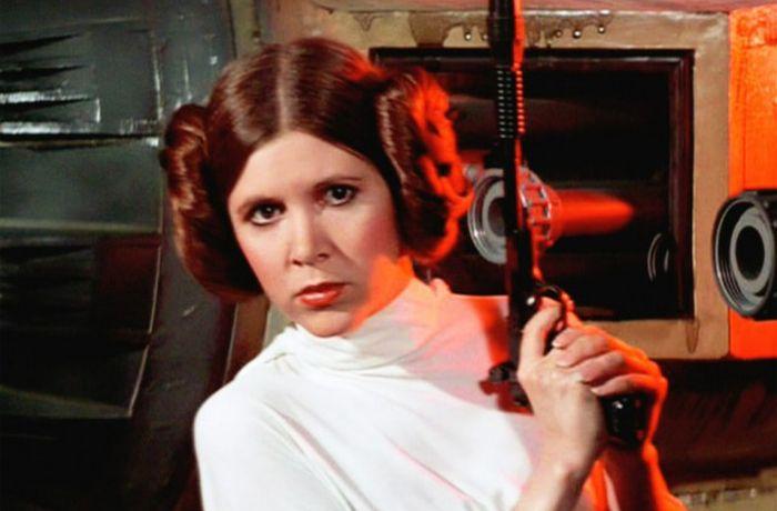 Умерла Кэрри Фишер, принцесса Лея Органа из «Звездных войн» (2 фото)