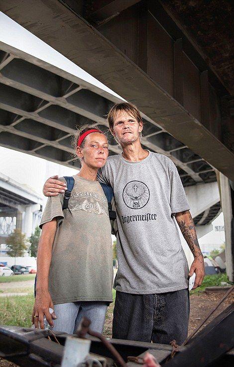 Как живут бездомные американцы (20 фото)