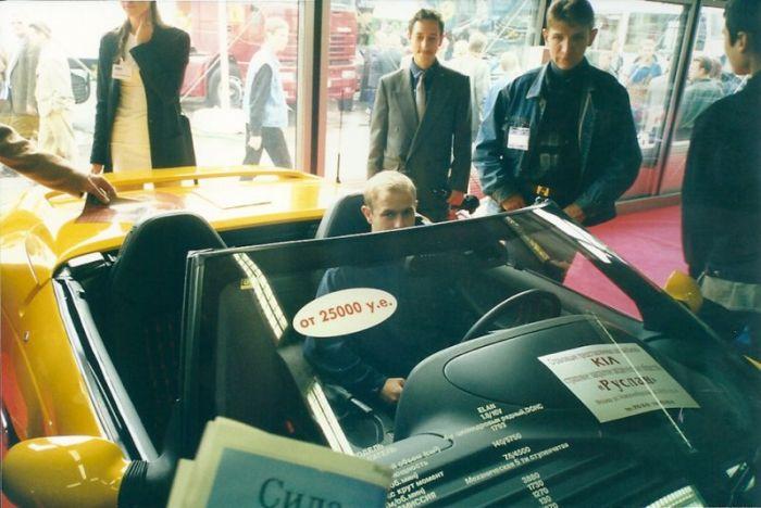 Московский автосалон 1998 года (39 фото)