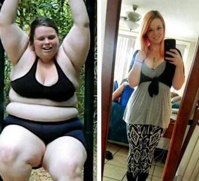 О чем молчат похудевшие девушки или другая сторона похудения (5 фото)