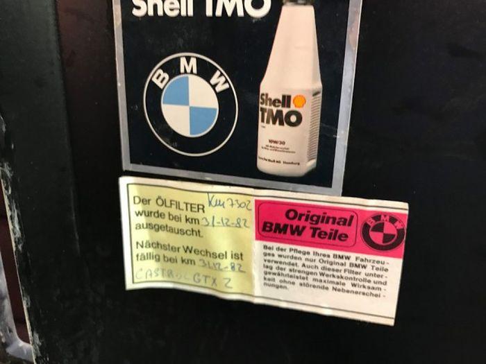 BMW M1 1981 года выпуска, простоявший в гараже 34 года (20 фото)