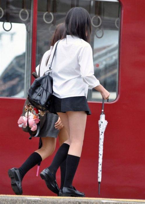 Юбки японских старшеклассниц (14 фото)