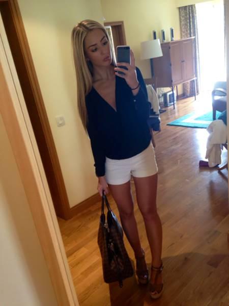 Короткие шорты (35 фото)