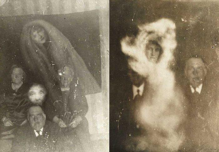 Фото «призраков» британского фотографа-спиритуалиста Уильяма Хоупа (22 фото)