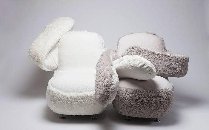 Кресло для тех, кому не хватает объятий (7 фото)