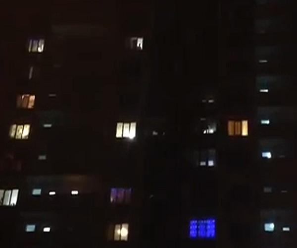 Стрельба из автомата в новогоднюю ночь