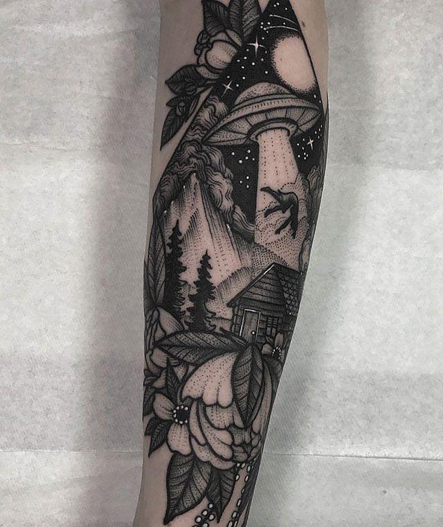Красивые татуировки (21 фото)