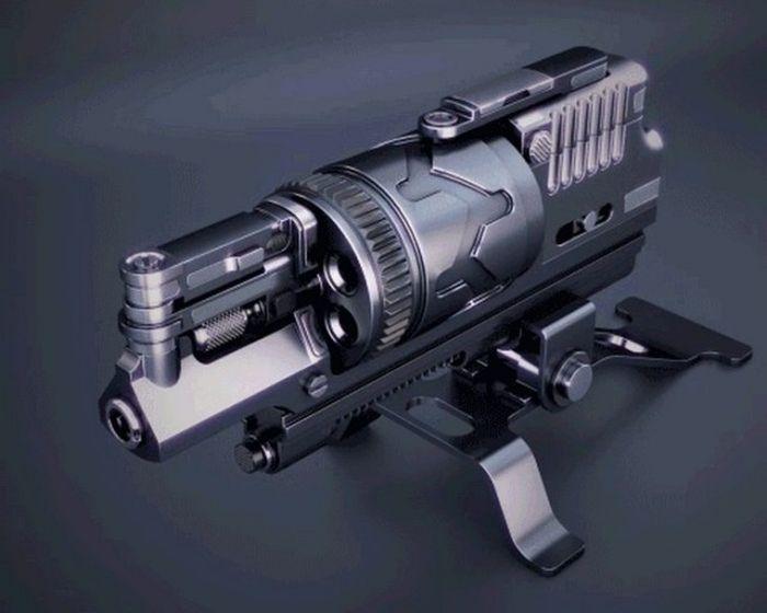 Принцип работы различных видов оружия (10 гифок)