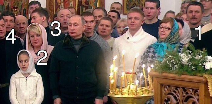 «Массовка» Путина (2 фото)