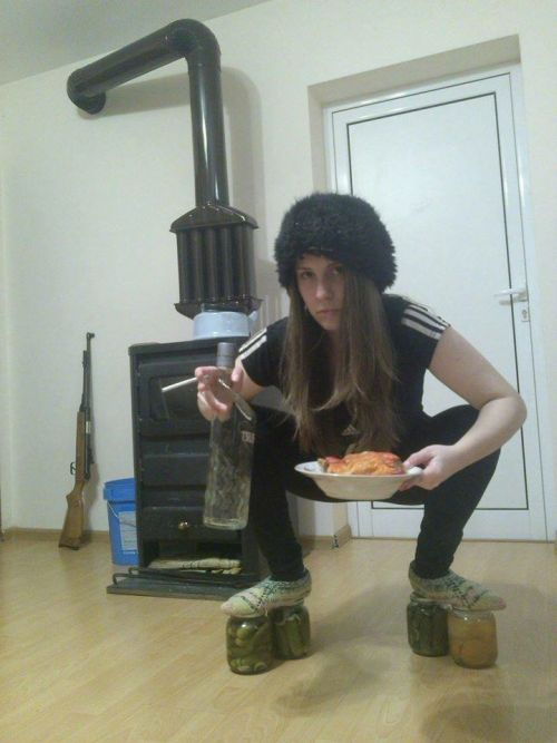Фото, которые возможно было сделать только в России. Часть 53 (34 фото)