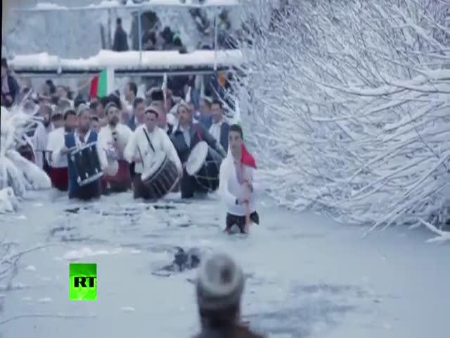 Как отмечают Крещение в Болгарии