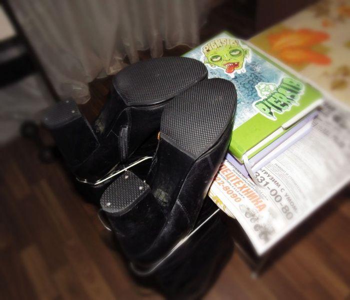 Антиледовое покрытие обуви (13 фото)