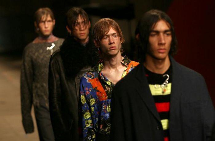 Неделя мужской моды в Лондоне (24 фото)