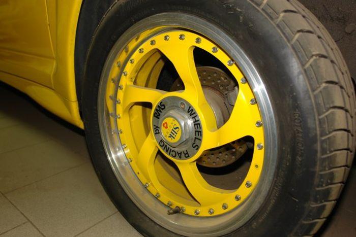 ВАЗ 21106 «Желтая акула» - малоизвестный концепт АвтоВАЗа (19 фото)