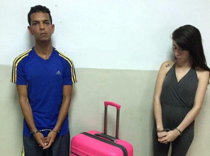 В Венесуэле девушка пыталась вынести возлюбленного из тюрьмы в чемодане (2 фото)