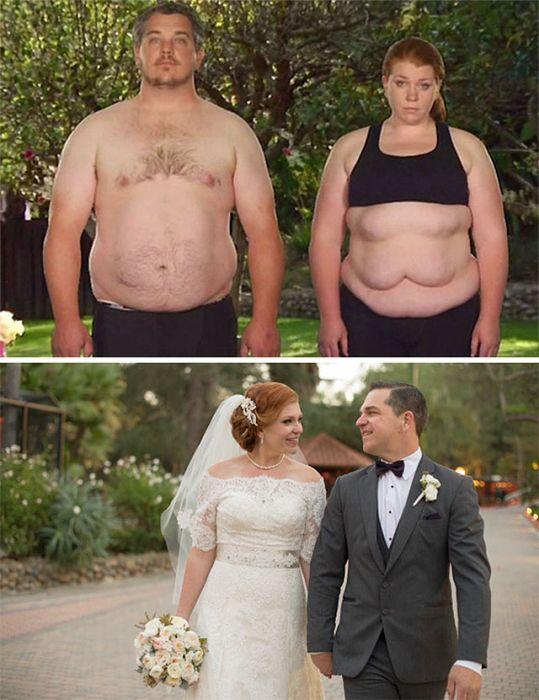 Невероятные преображения пар (20 фото)