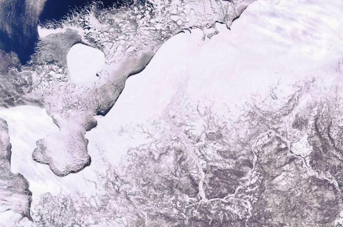 Россия из космоса (19 фото)