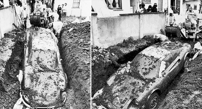 Невероятные находки, которые были сделаны людьми в собственном дворе (10 фото)