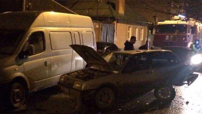 В Ростове-на-Дону пьяный священнослужитель устроил серьезную аварию (7 фото)