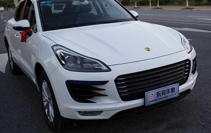 Зачем платить больше: Porsche Macan на базе китайского кроссовера (17 фото)