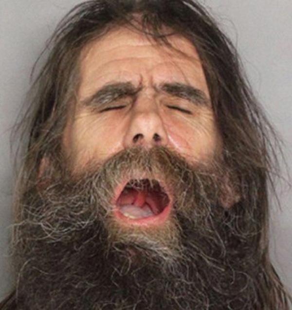 Странные лица американских преступников  (25 фото)