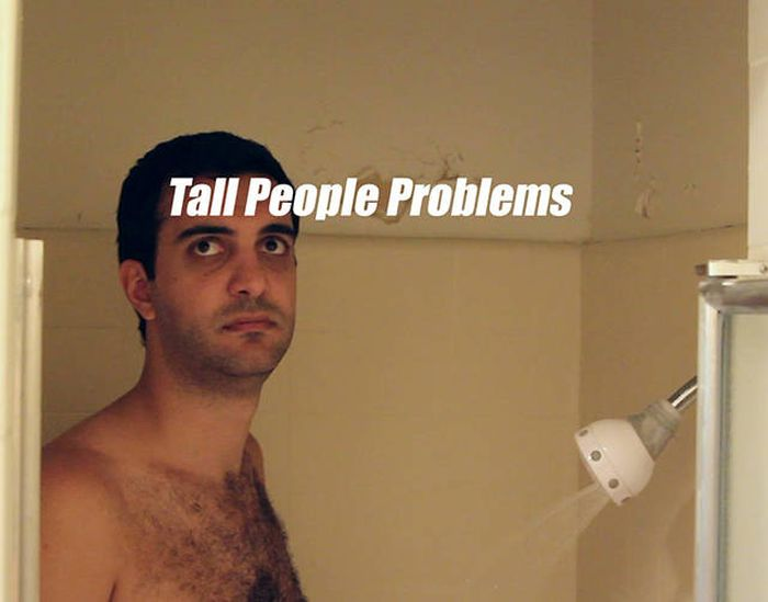 Проблемы, с которыми сталкиваются высокие люди (37 фото)
