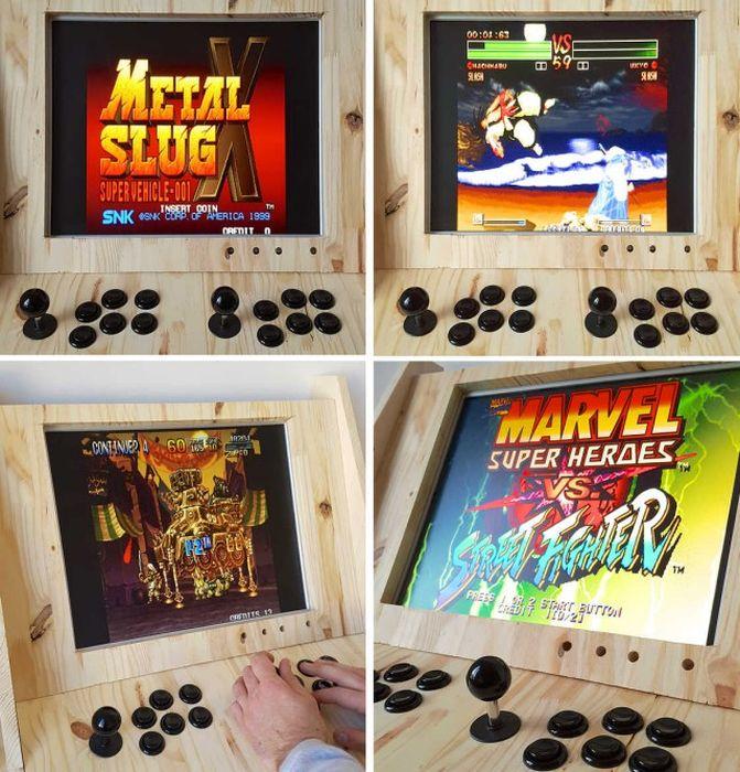 Настоящий мужской игровой автомат своими руками (17 фото)