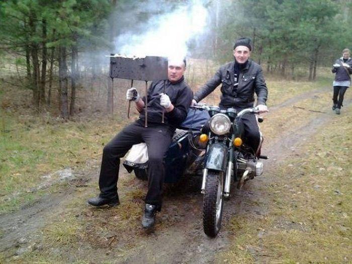 Русские на загородном отдыхе (40 фото)