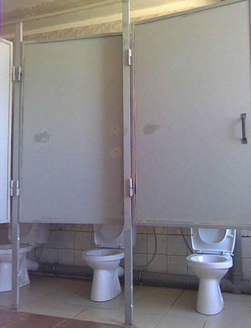 Самые странные туалеты (15 фото)