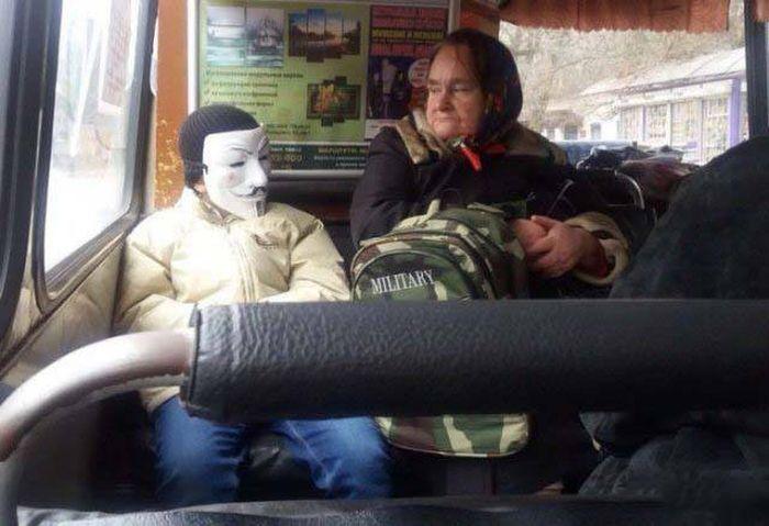 Фото, которые возможно было сделать только в России. Часть 55 (39 фото)