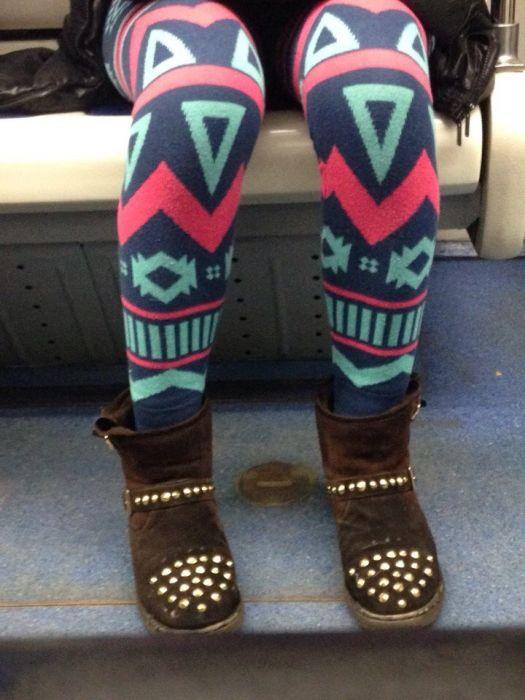 Модники из российского метро (35 фото)