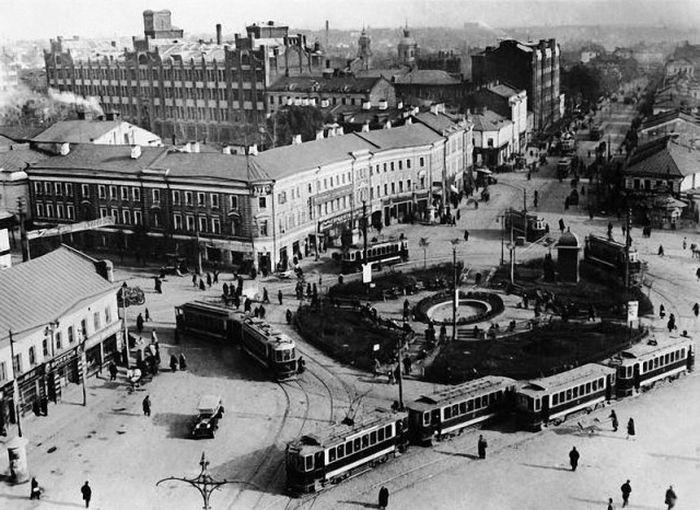Москва в 20-е годы XX века (50 фото)