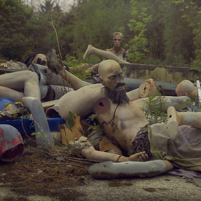 Заброшенный парк развлечений в Великобритании (6 фото)