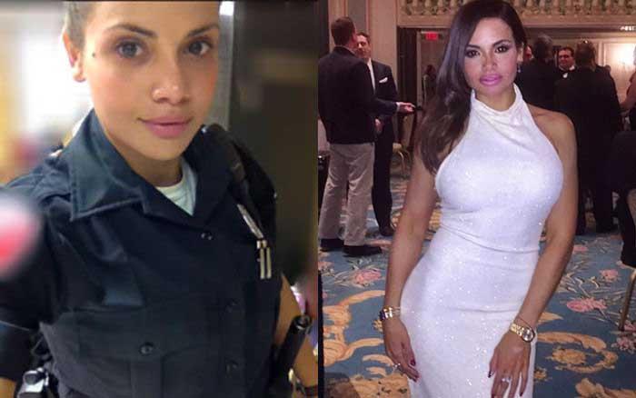 Саманта Сепульведа - самый красивый полицейский Нью-Йорка (13 фото)