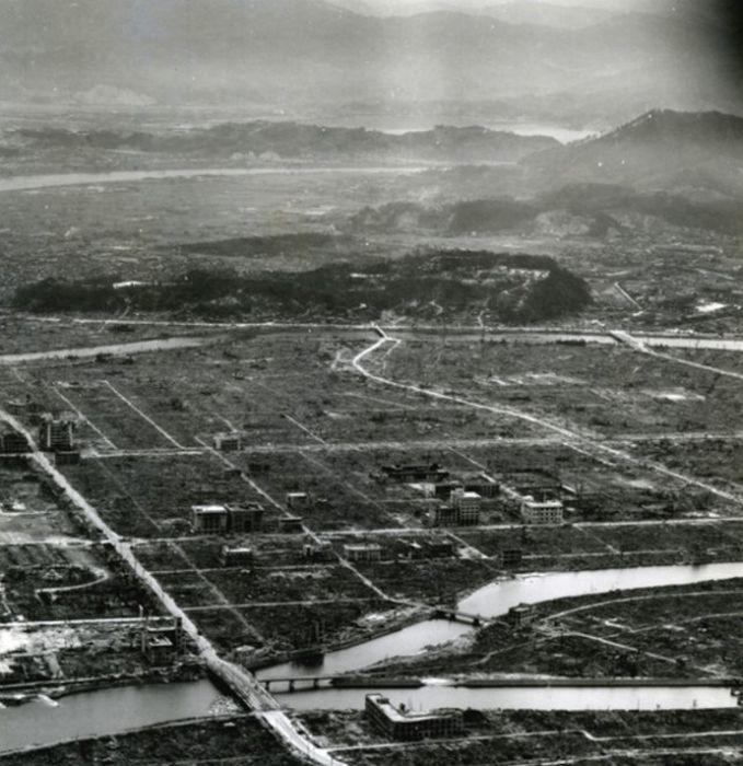 Обнародованы ранее неизвестные фото атомной бомбардировки Хиросимы (6 фото)