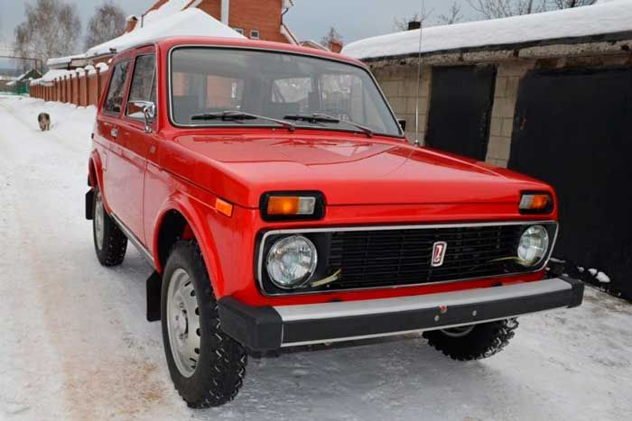 Экспортная версия ВАЗ-2121 «Нива» 1980-го года с пробегом 200 км (12 фото)