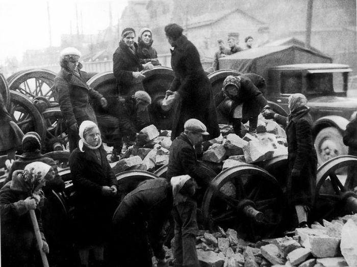 Снимки блокадного Ленинграда (41 фото)