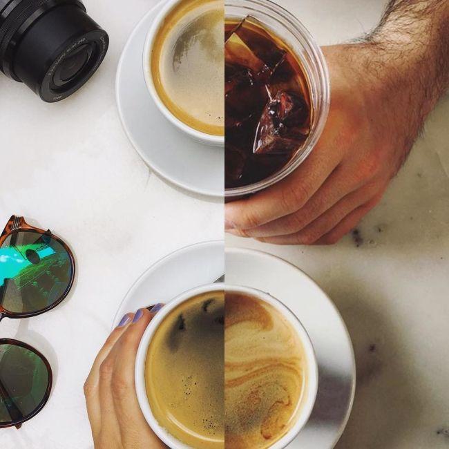 Пара делает «совместные фото» из половинок разных снимков (16 фото)