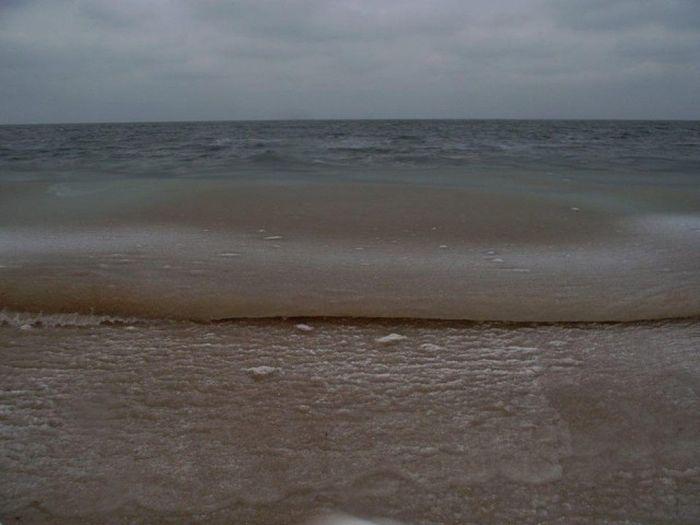 Гелевый шторм у побережья Крыма (14 фото)