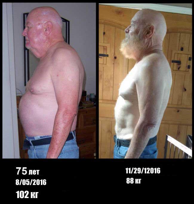 как похудеть пожилой женщине