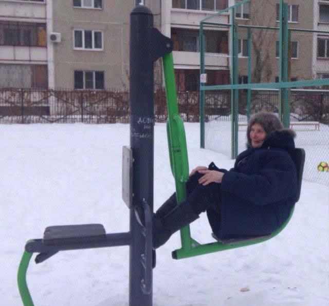 Фото, которые возможно было сделать только в России. Часть 56 (35 фото)